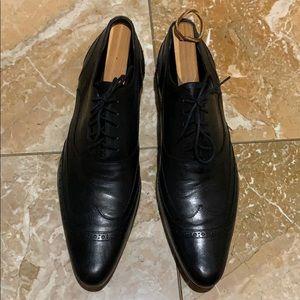 D&G Dolce & Gabbana men's lace up shoes black 9.5